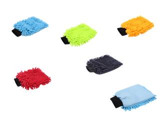 """GD Basic """"Zottel"""" Mikrofaser Waschhandschuh"""