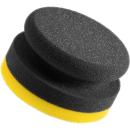 Handpolierschwamm 90mm in Varianten Gelb - Medium Cut